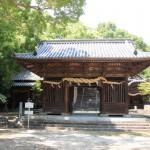 国津比古神社門