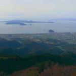 高縄山から北条遠景